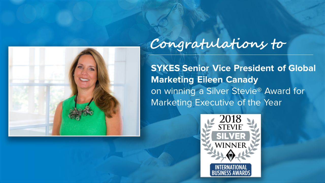 Eileen Canady Wins Silver Stevie for Marketing Executive of the Year