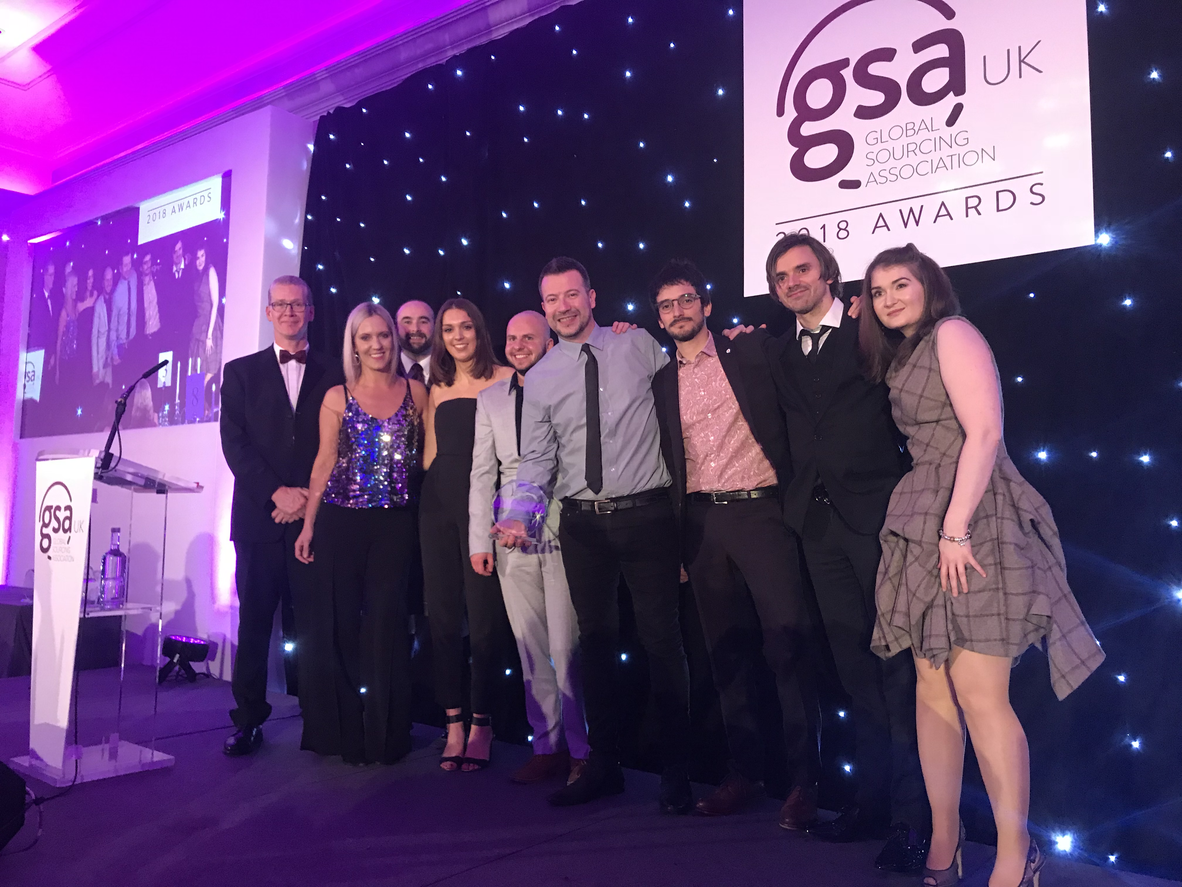 SYKES Edinburgh Wins Three Awards of Excellence