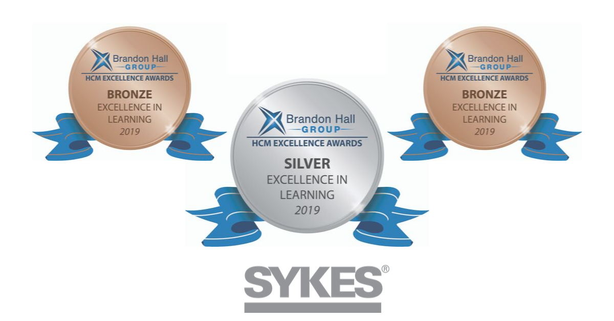 SYKES Wins 3 Brandon Hall Group Excellence Awards