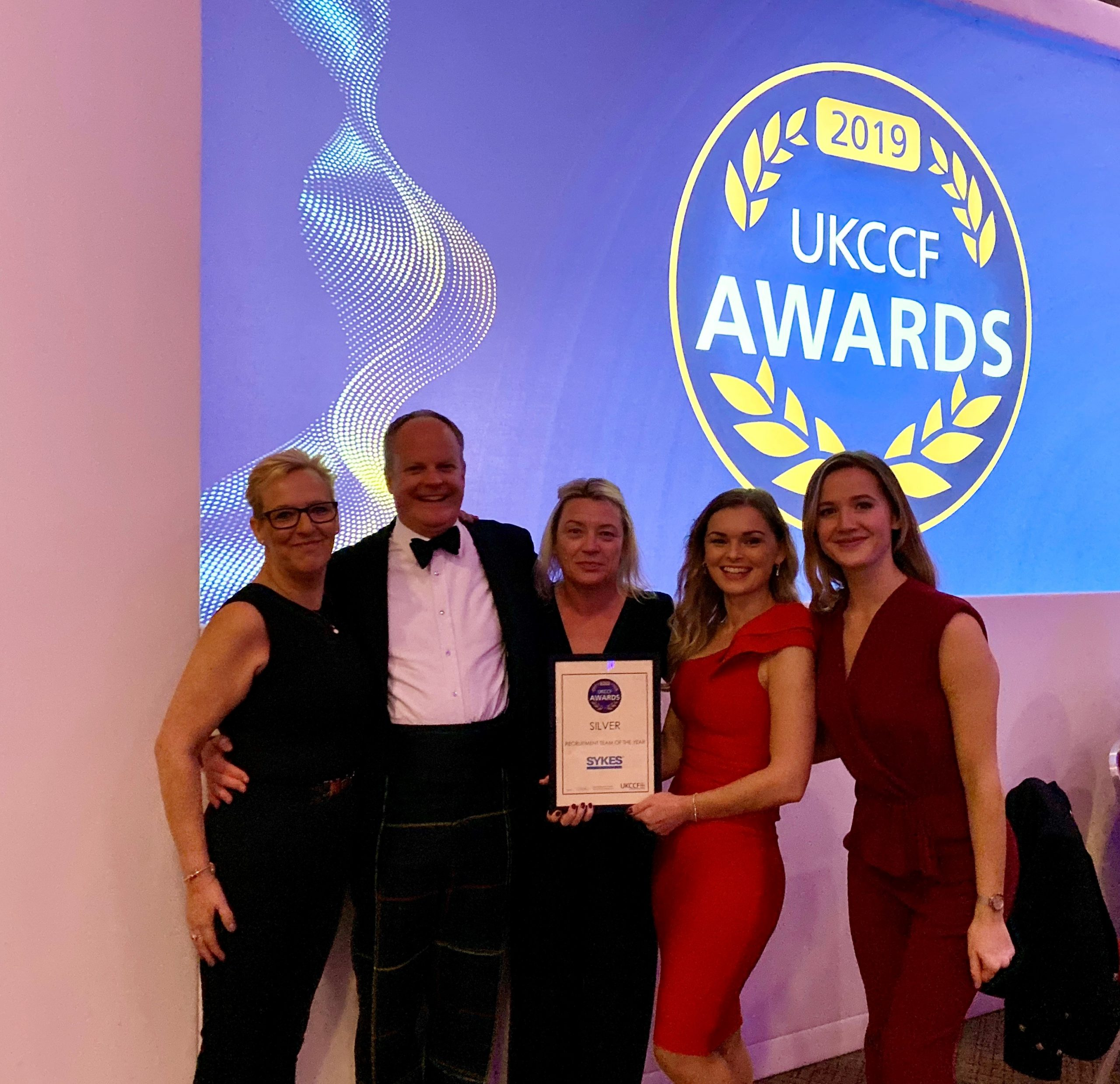 SYKES UK: Silver Award, Recruitment Team of the Year