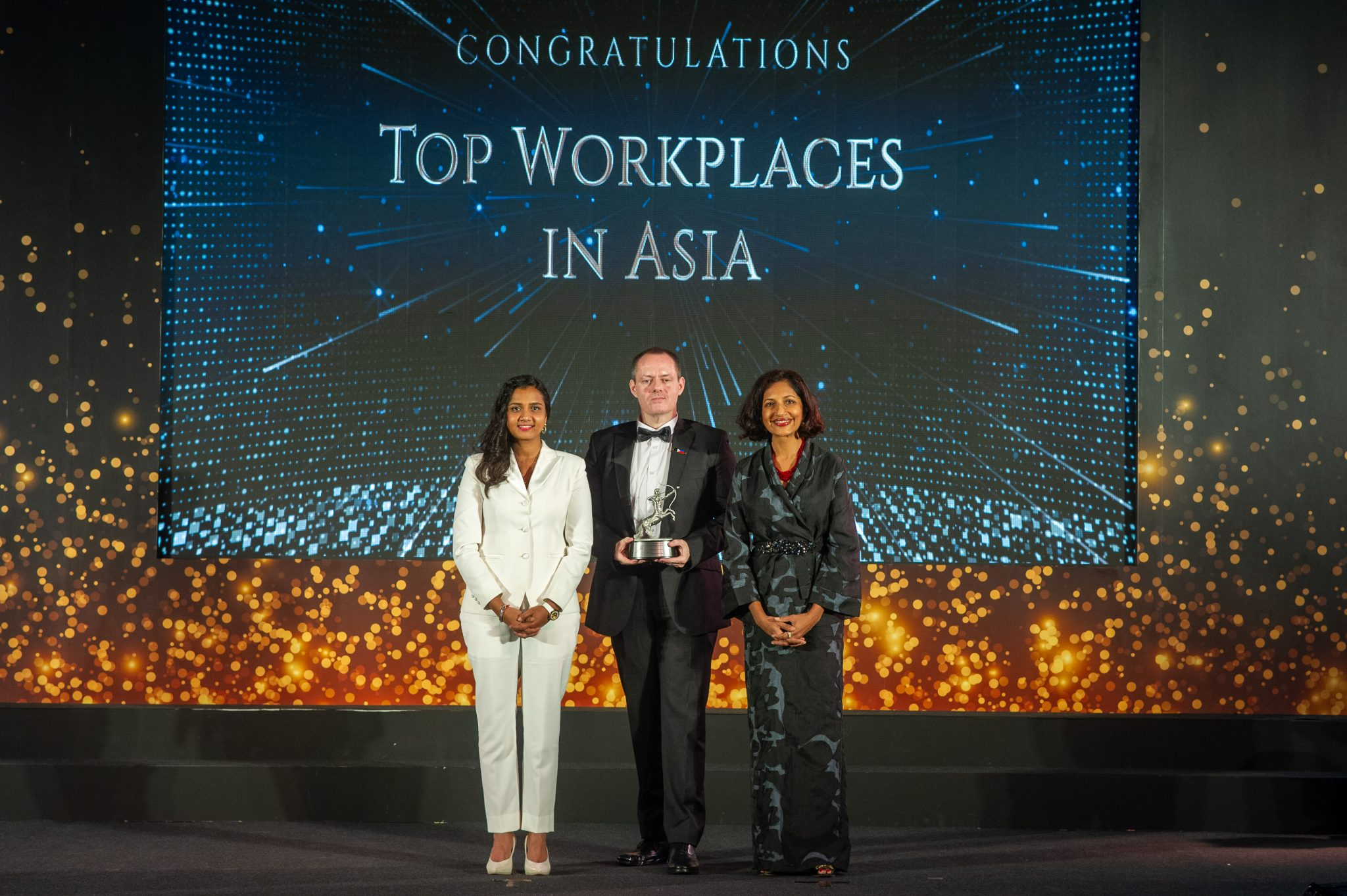 Named Top Workplace in Asia