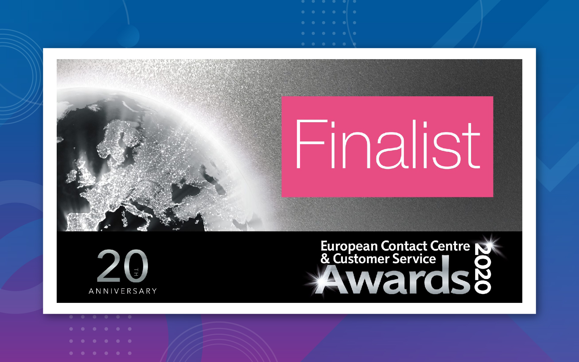 SYKES EMEA Named Finalist in 8 Categories at 2020 ECCCSA Awards